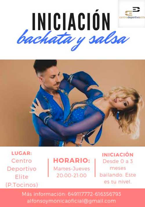 Clases de Salsa y Bachata en Murcia