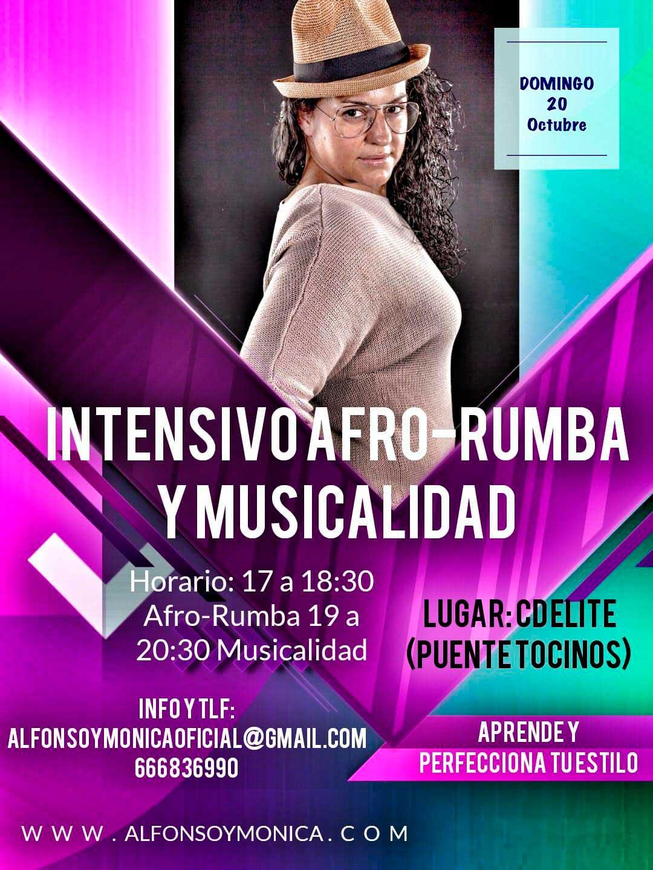 Taller de baile Intensivo Afro-Rumba y Musicalidad en Murcia