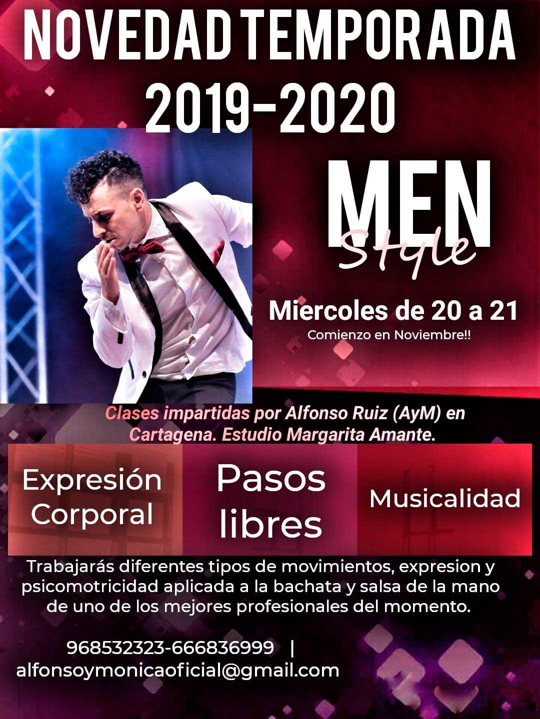 Clases Bailes Latinos Bachata Salsa Estilo Chico en Murcia