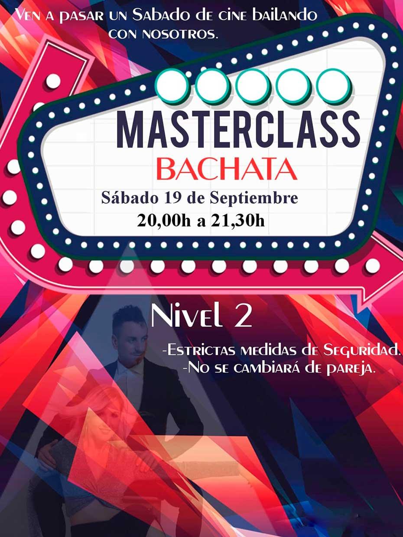 Masterclass Bachata Nivel 2 con Alfonso y Mónica
