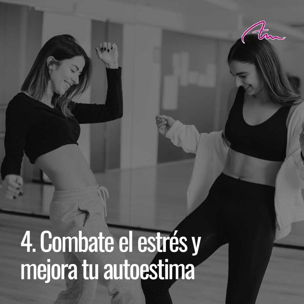 Bailar combate el estrés y mejora tu autoestima