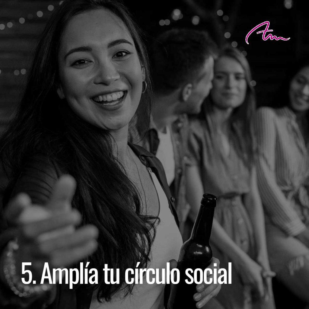 Bailar amplía tu círculo social