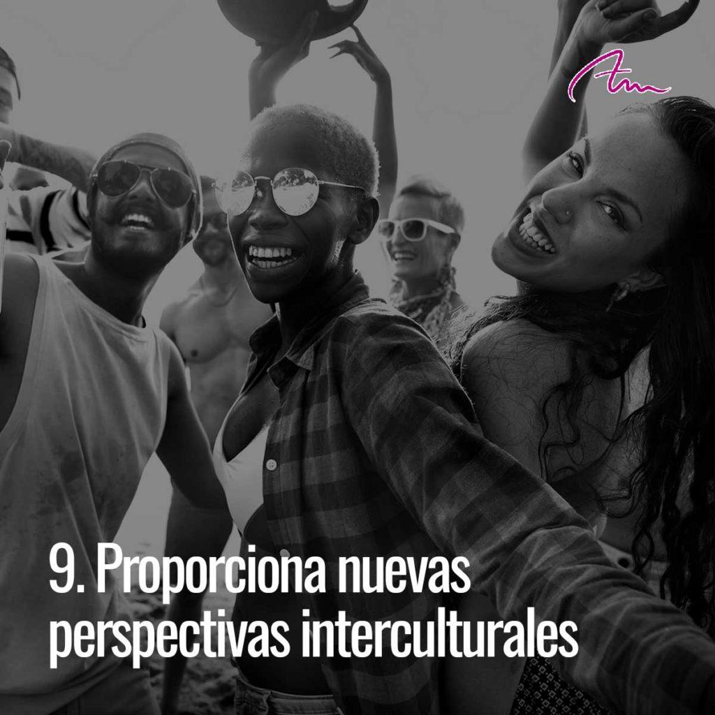 Bailar proporciona nuevas perspectivas interculturales