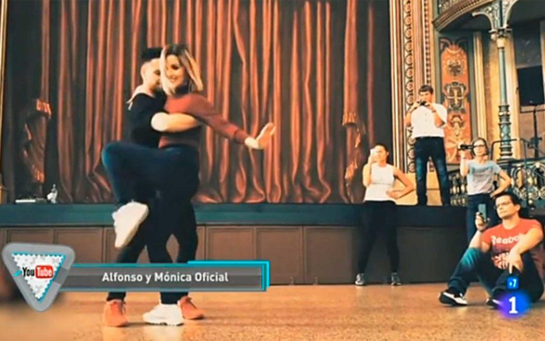 Alfonso y Mónica en RTVE